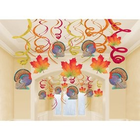 Thanksgiving Hanging Swirls Mega Value Pack