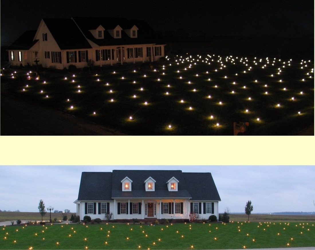 Lawn Lights Illuminated Outdoor Decoration