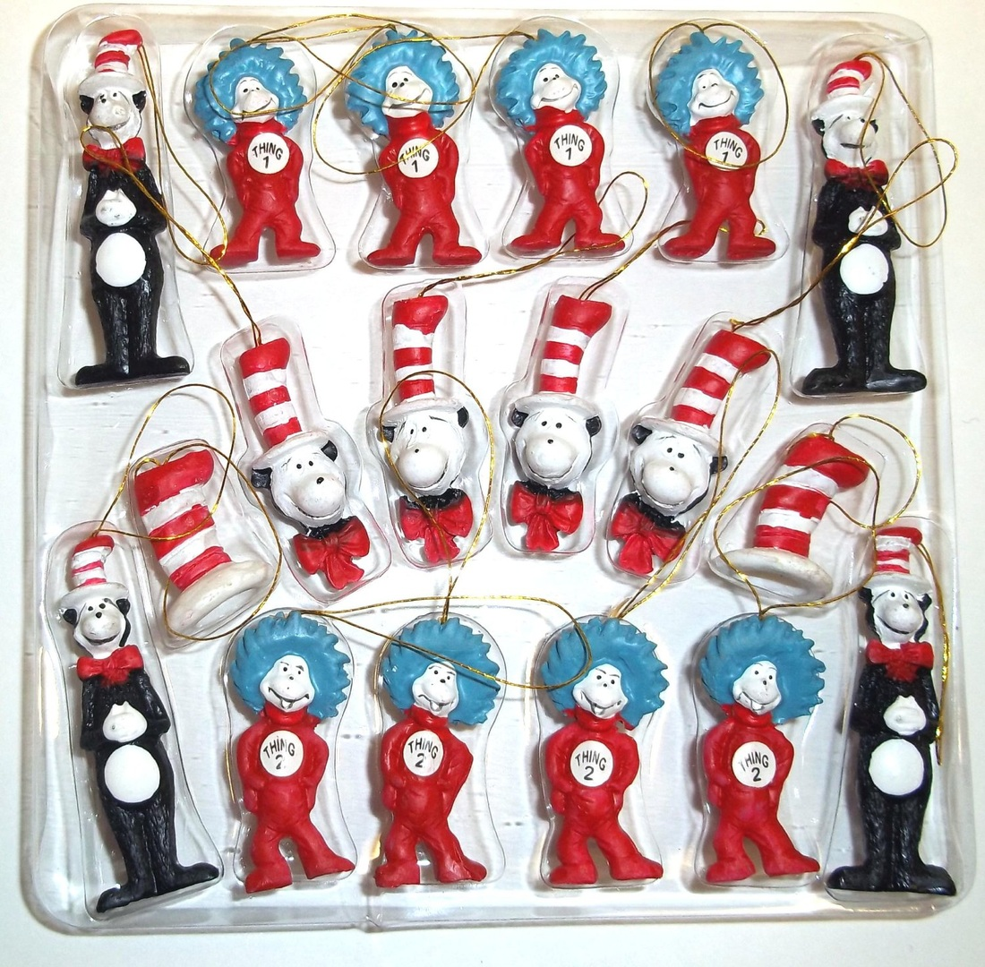 Dr. Seuss The Cat in the Hat Figurines