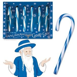 Accoutrements Hanukkah Candy Canes
