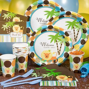 Jungle Baby Shower Party Pack