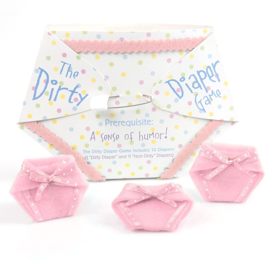The Dirty Diaper Game - Pink