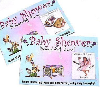 Baby Shower Party Scratchers Scratch-Off Game