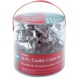Holiday Metal Cookie Cutter Set