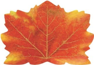 Thanksgiving Maple Leaf Shaped Placemats